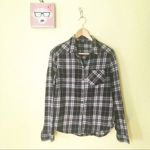 Paige jeans flannel check shirt